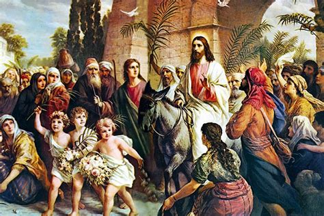 CATHOLICVS: Domingo de Ramos. Con la conmemoración de la ...