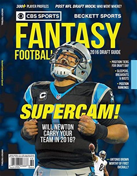 CBS Sports 2016 Fantasy Football Draft Guide   Import It All