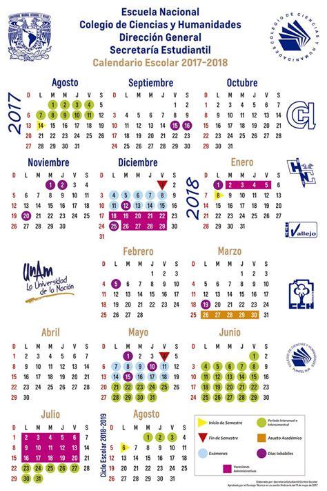 CCH UNAM on Twitter:  Consulta el calendario escolar del ...