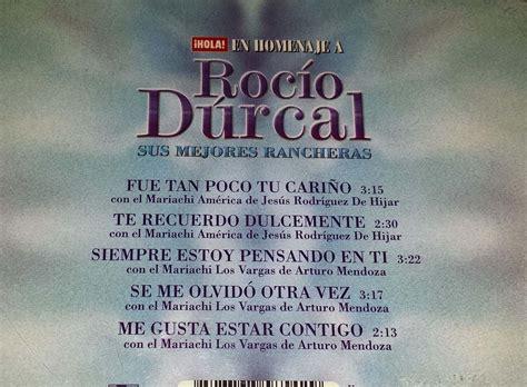 Cd Rocío Durcal Sus Mejores Rancheras - $ 129.00 en ...