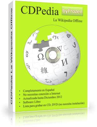 CDPedia la Wikipedia Offline [2012] [Wikipedia en tu PC ...