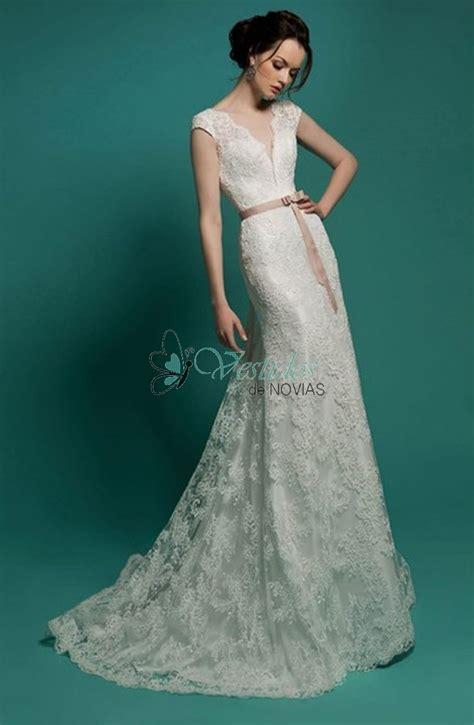 CELAYA   vestidos de novia elegantes y modernos de encaje ...