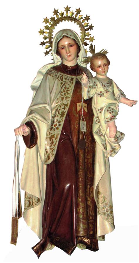 Celebración de la Virgen del Carmen y bendición de ...