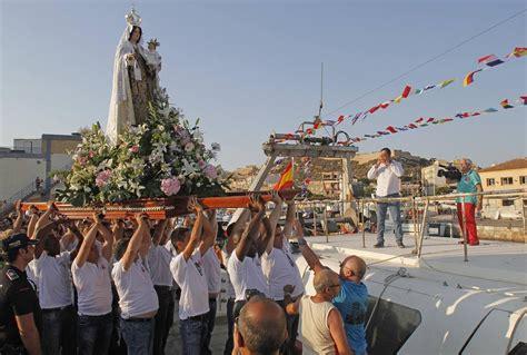 Celebración del día de la Virgen del Carmen en Santa Lucía ...