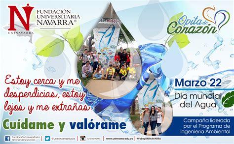 Celebración Día Mundial del Agua - Uninavarra