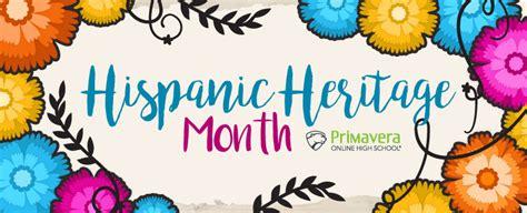Celebrate National Hispanic Heritage Month With Primavera ...