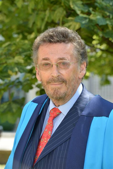 Celebrated actor Robert Powell received an honorary ...