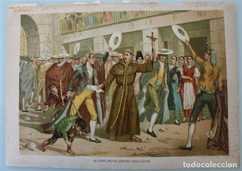 celebre motin contra esquilache: antigua litogr   Comprar ...