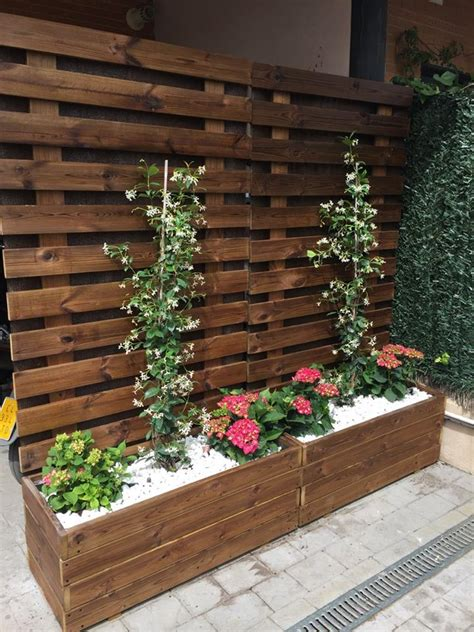 CELOSIAS AL AUTOCLAVE (exterior) - jardineras de madera