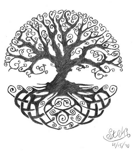 Celtic Tree of Life tattoo | Scotland | Pinterest | To be ...