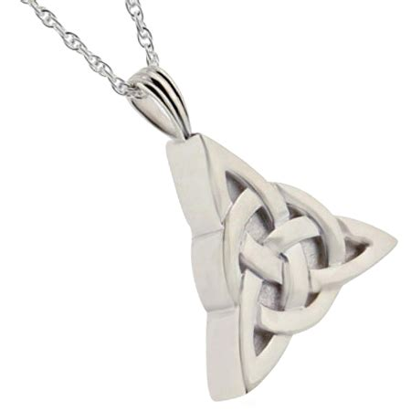 Celtic Trinity Cremation Jewelry for Ashes