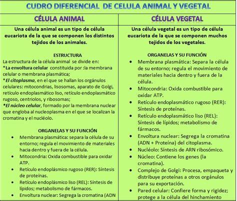 -Célula eucariota: Vegetal y animal. - La célula