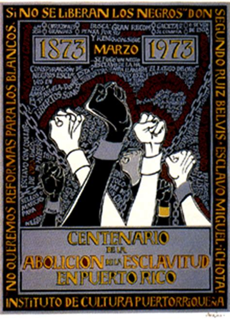 Centenario de la Abolición de la Esclavitud   Museo de ...