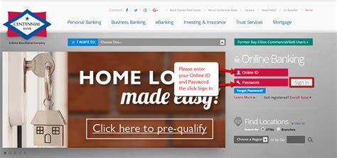 Centennial Bank Online Banking Login - CC Bank