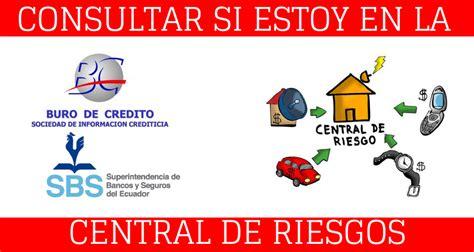 Central de riesgo Ecuador