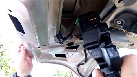 Cerradura maletero no abre. Desmontar, reparar. Peugeot ...