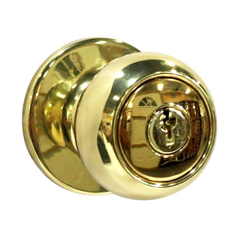 Cerradura principal dorada