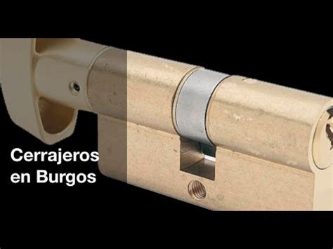 Cerrajeros en Burgos - 24 horas - URGENTE - YouTube