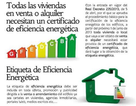 Certificado de Eficiencia Energética: obligatorio para ...