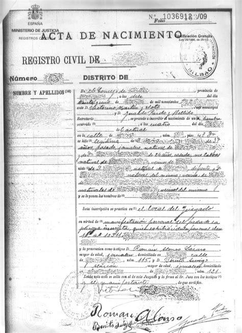 Certificado de matrimonio civil   Imagui