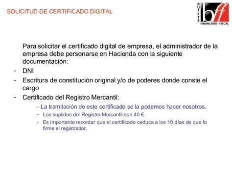 Certificado digital FNMT. Solicitud e instalación