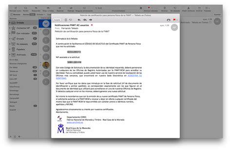 Certificado digital Mac OSX   Guía detallada paso a paso