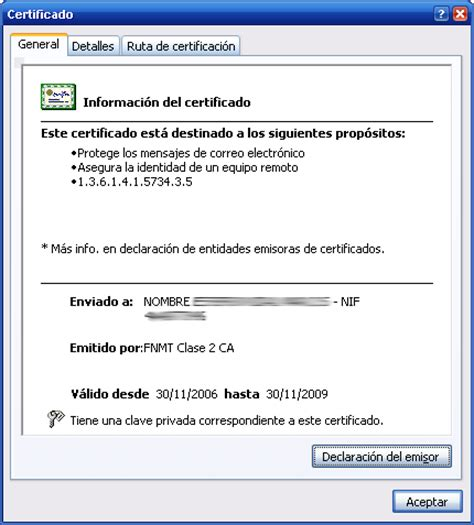 Certificado Digital – ME