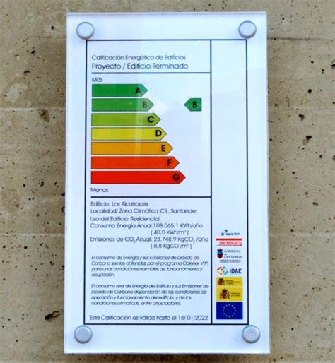 Certificado energético para edificios