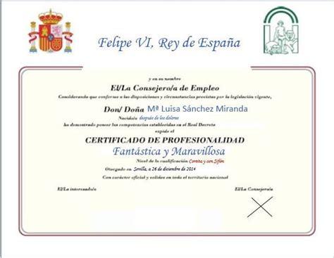 certificado profesionalidad | FORMANDO PARA EL EMPLEO