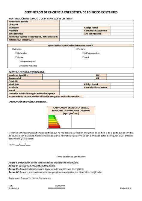 Certificados eficiencia energética | CertiEnerg