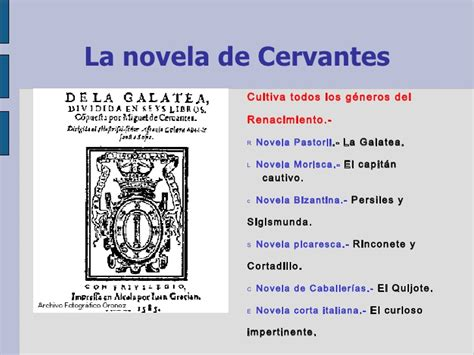 Cervantes Vida Y Obra PresentacióN