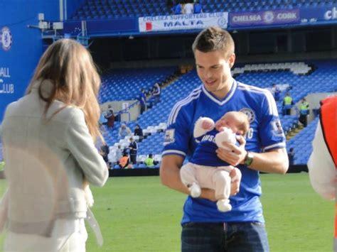 cesar azpilicueta avec sa copine et sa fille - Blog de ...