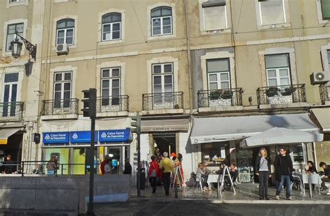 CGD Praça da Figueira Lisboa - Bancos de Portugal