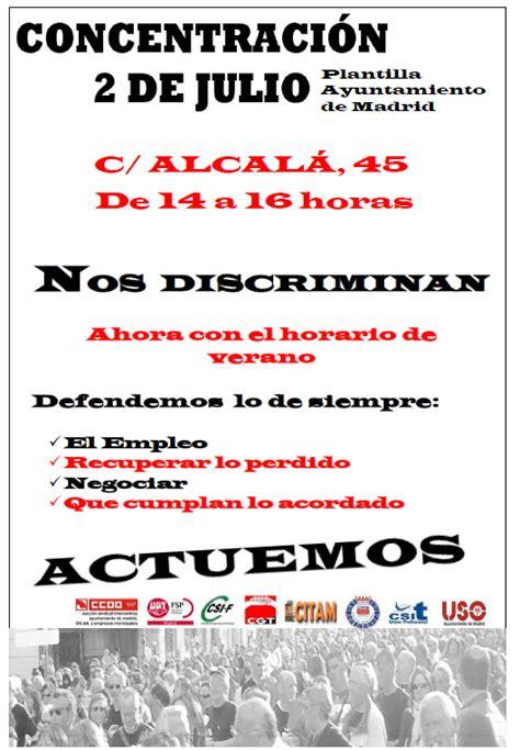 CGT Agencia para el Empleo: Concentración 2 de Julio en la ...
