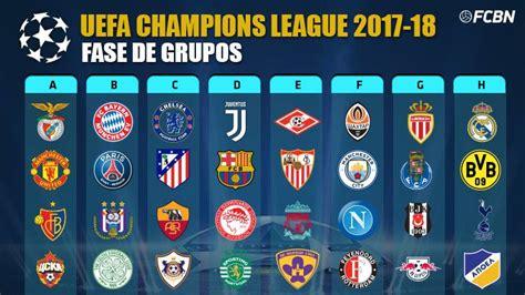 Champions League Calendario Y Resultados | STREAMING EN ...