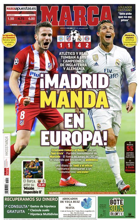 Champions League: Madrid manda en Europa | Marca.com