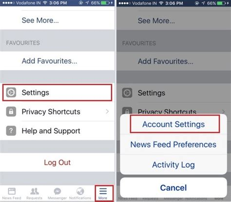 Change facebook password on iPhone: iOS 9 [How to]