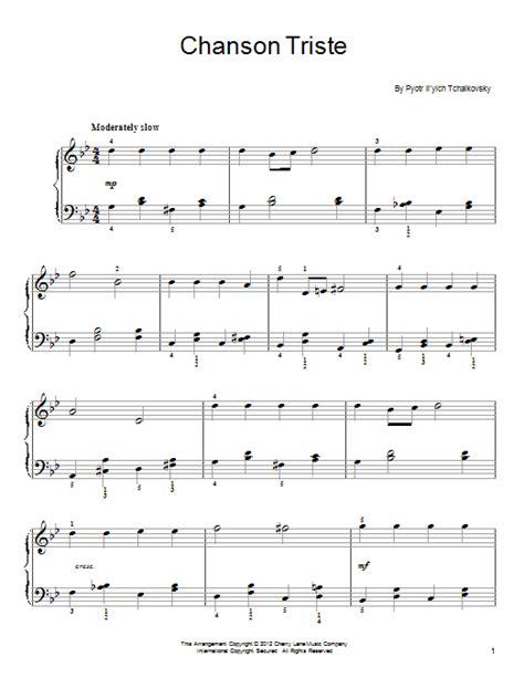 Chanson Triste | Sheet Music Direct