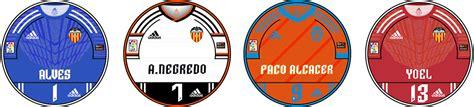 CHAPAS VALENCIA CLUB DE FÚTBOL 2014/15   Chapas de Futbol ...