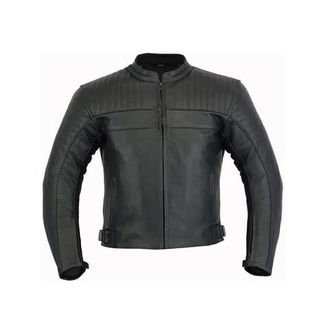 Chaqueta moto piel negra acolchada   Zapybotas