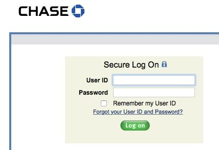 Chase Checking Account Log On - Bing images