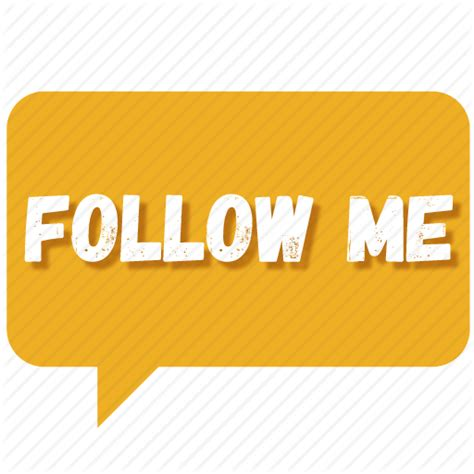 Chat, contact us, follow, follow me, message, notification ...
