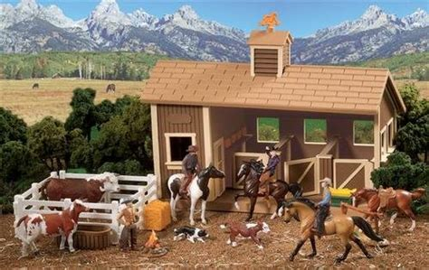 Cheap Breyer Horses Bonanza Ponderosa Ranch Stablemates ...