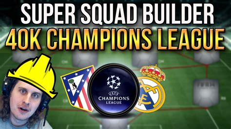 CHEAP CHAMPIONS LEAGUE FINAL SQUAD BUILDER | REAL MADRID ...