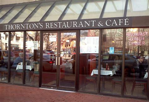Cheap Eats: Thornton's Restaurant & Cafe | Baking on a Budget