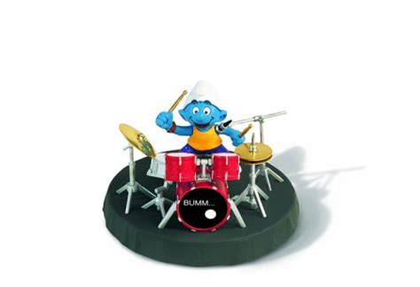 Cheap Schleich Smurfs Drummer Set | Cheap Toy Final ...