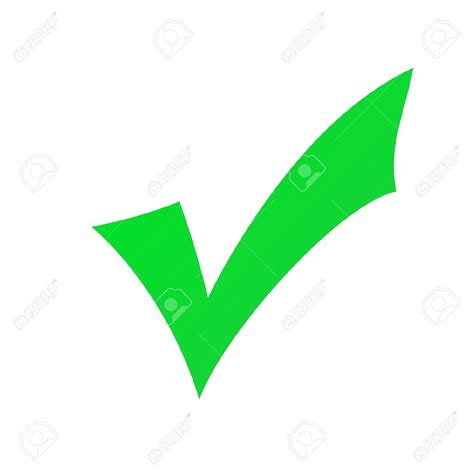 Check Mark Green Clipart   Free download best Check Mark ...