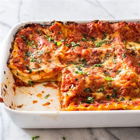 Cheese and Tomato Lasagna   America s Test Kitchen