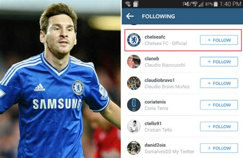 Chelsea transfer news: Lionel Messi follows Chelsea on ...