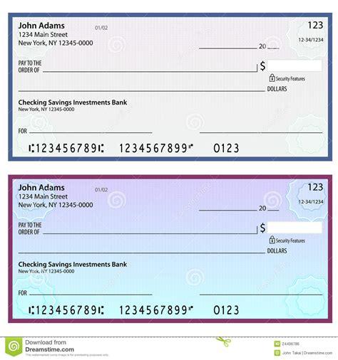 Cheques Personales De La Seguridad De La Filigrana ...